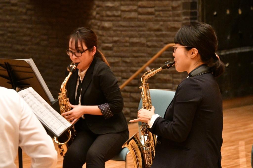 横浜市一般吹奏楽 テナーサックス募集中!