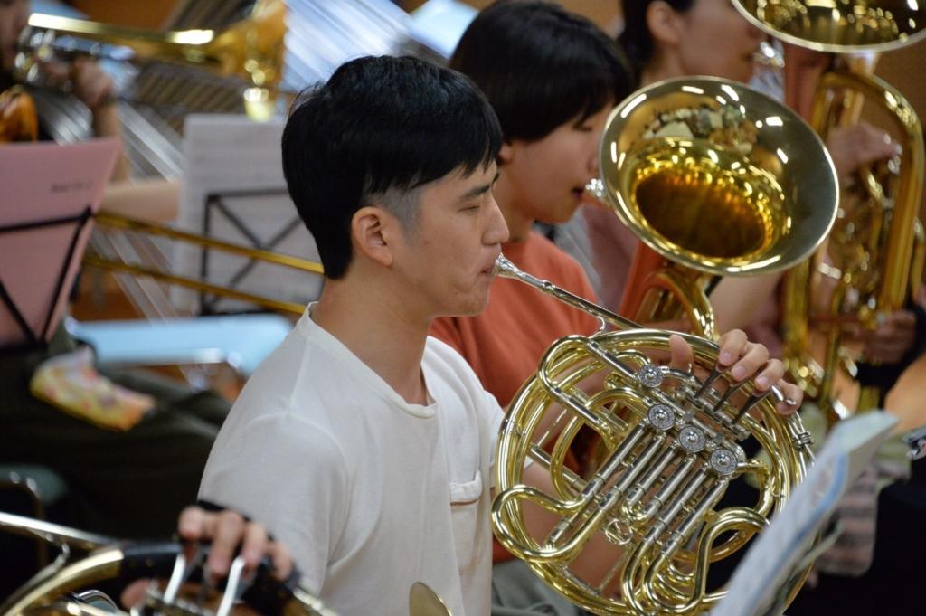 横浜市一般吹奏楽団 ホルン募集中