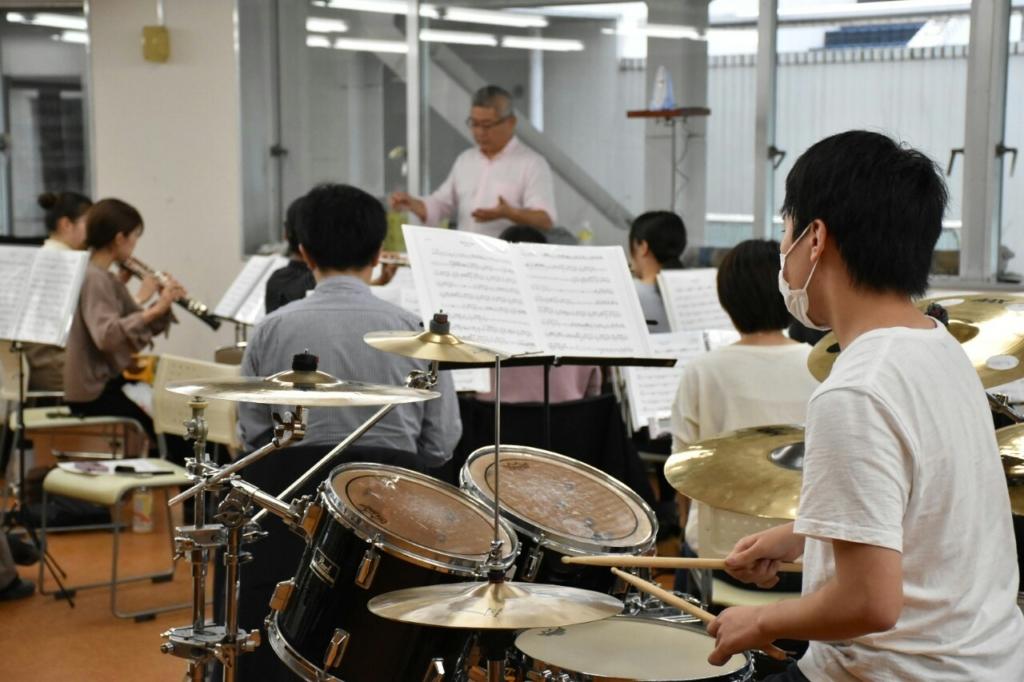 横浜市一般吹奏楽 打楽器募集中!