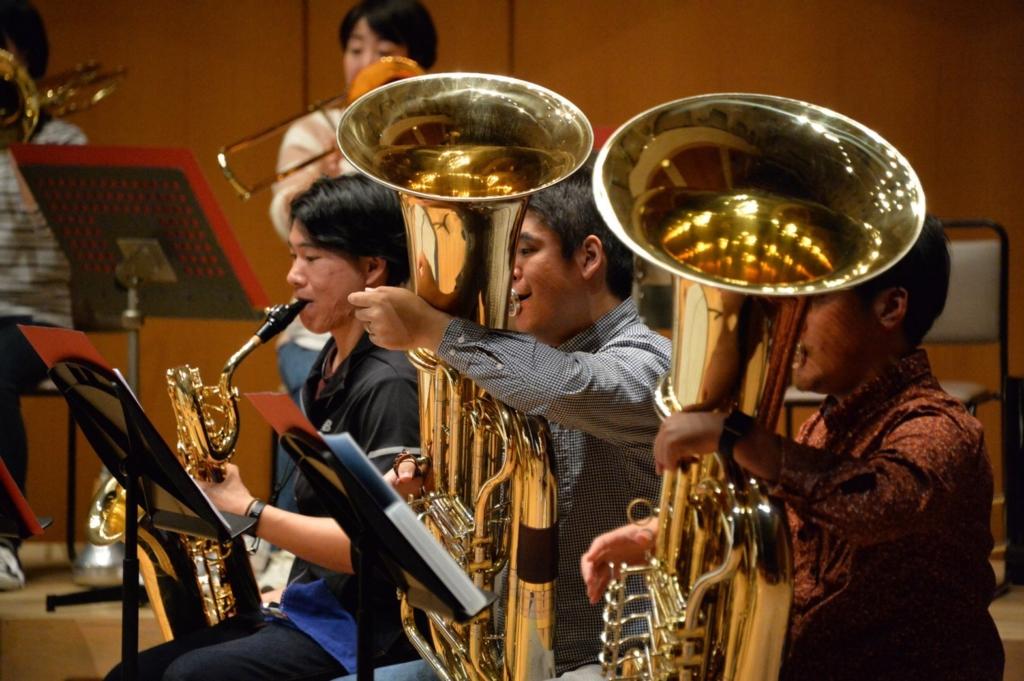 横浜市一般吹奏楽 チューバ募集中