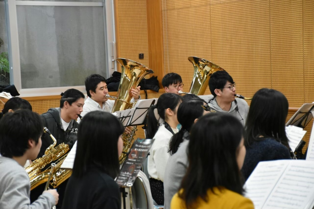 横浜市一般吹奏楽 団員募集中!